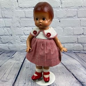 Vintage Effanbee Patsy Doll with Roller Skates